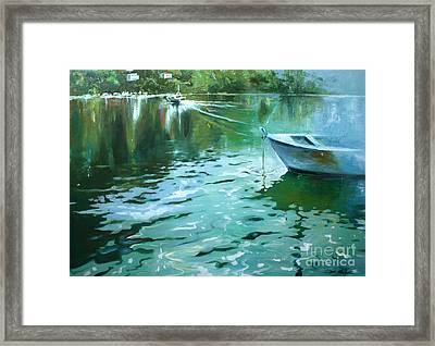 To Anjuna Framed Print by Lin Petershagen