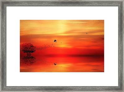 To Autumn Framed Print by Lourry Legarde
