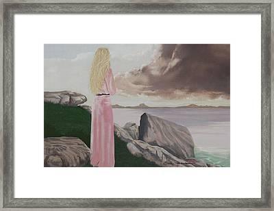 To Be Over Framed Print by MOTORVATE STUDIO Colin Tresadern