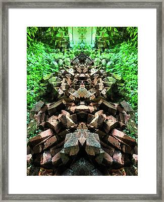 To Be Thick As Framed Print