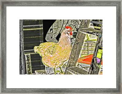 To Climb The Corporate Ladder . . . Framed Print