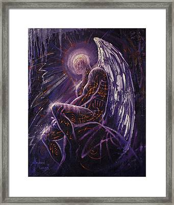 To Contemplate World Accension Framed Print by Stephen Lucas