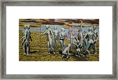 To Dance Framed Print by Leo Mazzeo