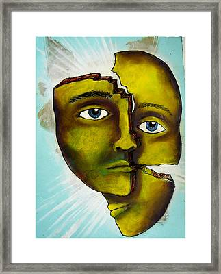 To Destroy The False Image Framed Print by Paulo Zerbato
