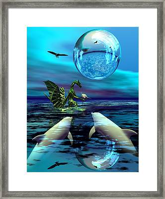 To Dine Or Not To Dine Framed Print