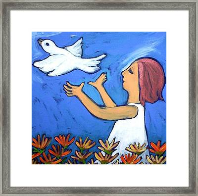 To Fly Free Framed Print