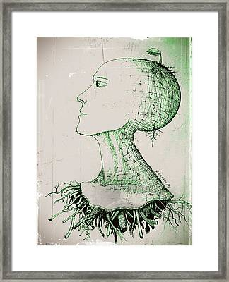To Germinate Ideas Framed Print by Paulo Zerbato