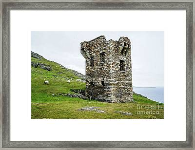 To Guard Against Ships Framed Print