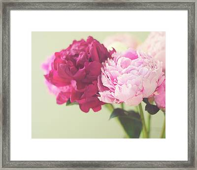 Framed Print featuring the photograph To Have And To Hold by Amy Tyler