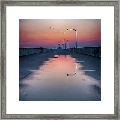 To Home Framed Print