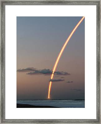 Framed Print featuring the photograph To Infinity And Beyond by Ron Dubin