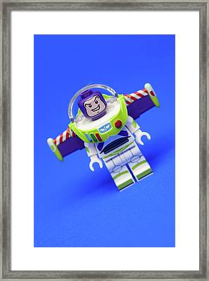 To Infinity And Beyond Framed Print by Samuel Whitton