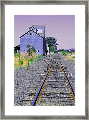 To Nowhere Framed Print by Margaret Hood