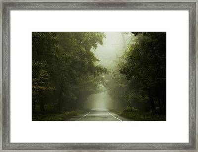 To Nowhere... Framed Print by Martin Podt