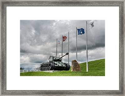 To Our Heroes Framed Print