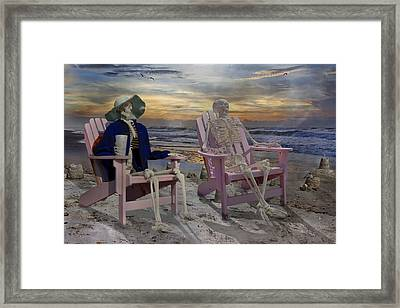 To See Another Sunrise Framed Print by Betsy Knapp