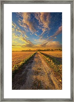 To Show Us The Way Framed Print