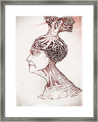 To Sow Ideas Framed Print by Paulo Zerbato