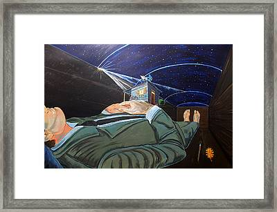 To Take The Sky And Mystery Framed Print
