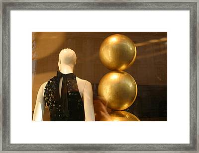 To The Ball Framed Print by Jez C Self