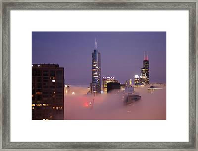 To The Bank Framed Print