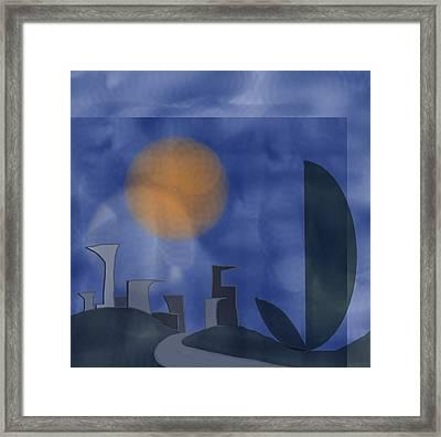 To The City 1 Framed Print by Denny Casto