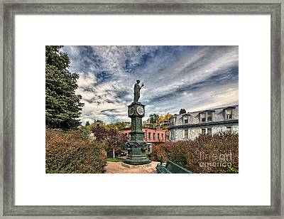 To The Colonel Framed Print