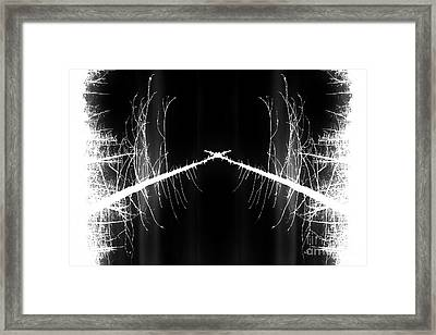To The Crossroads Framed Print