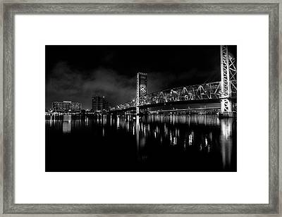 Framed Print featuring the photograph To The Crowne by Eric Christopher Jackson