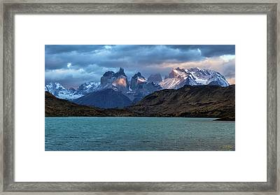 Framed Print featuring the photograph To The Ends Of The Earth by Stuart Gordon