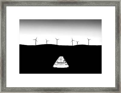 To The Future Framed Print