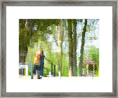 Blurred Edges Framed Print