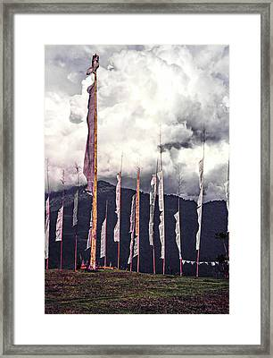 To The Gods Framed Print