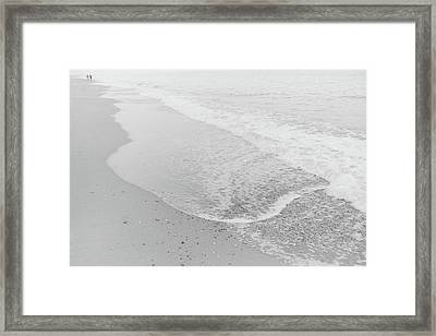 To The Horizon Framed Print