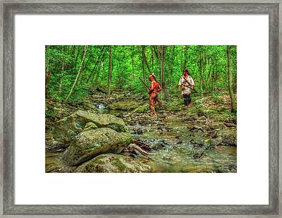 To The Kiskiminetas Framed Print