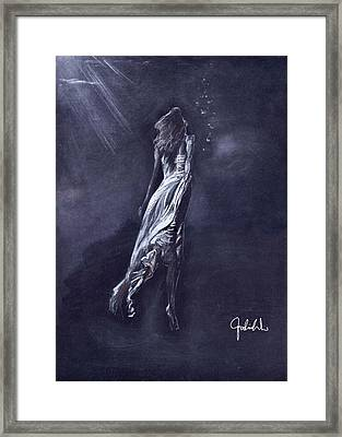 To The Light Framed Print by Falina Wu