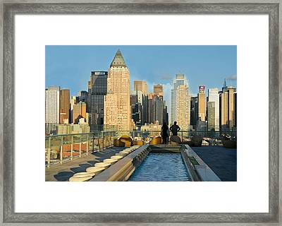 To The Limit Framed Print by Diana Angstadt