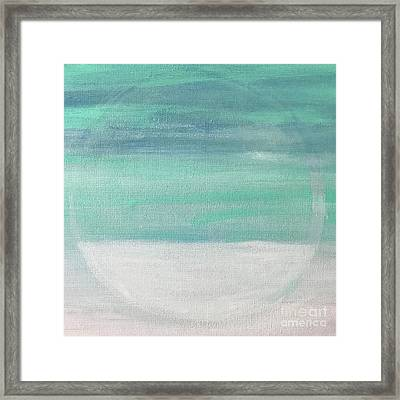 To The Moon Framed Print by Kim Nelson