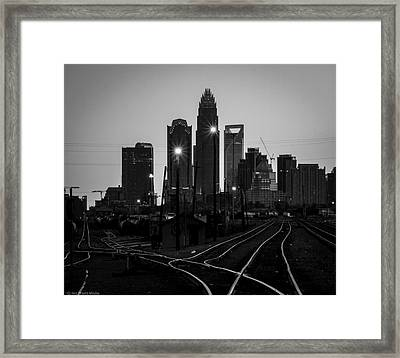 To The Queen City Framed Print