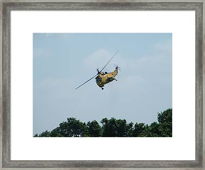 To The Rescue Framed Print