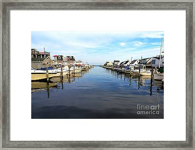 To The Sea At Lbi Framed Print by John Rizzuto