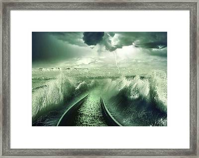 To The Sea Framed Print by Svetlana Sewell