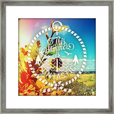 To The Sky Framed Print by Chris Andruskiewicz