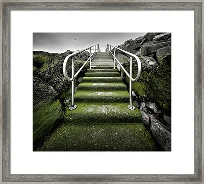 To The Sky Framed Print