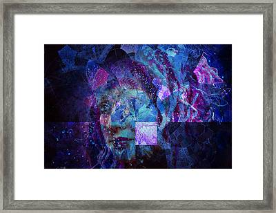 To The Stars I Look Framed Print by Bear Welch