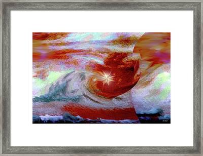 To The Stars Framed Print by Linda Sannuti