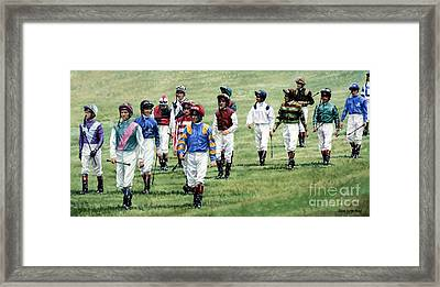 To Their Mounts Framed Print by Thomas Allen Pauly