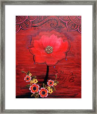 To Thine Own Self Be True Framed Print by Eleanor Hofer