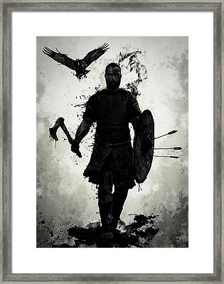 To Valhalla Framed Print
