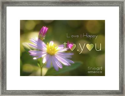 To You #003 Framed Print